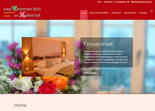 Zur Homepage von Haus Chiemsee-Blick & Zellnerhof