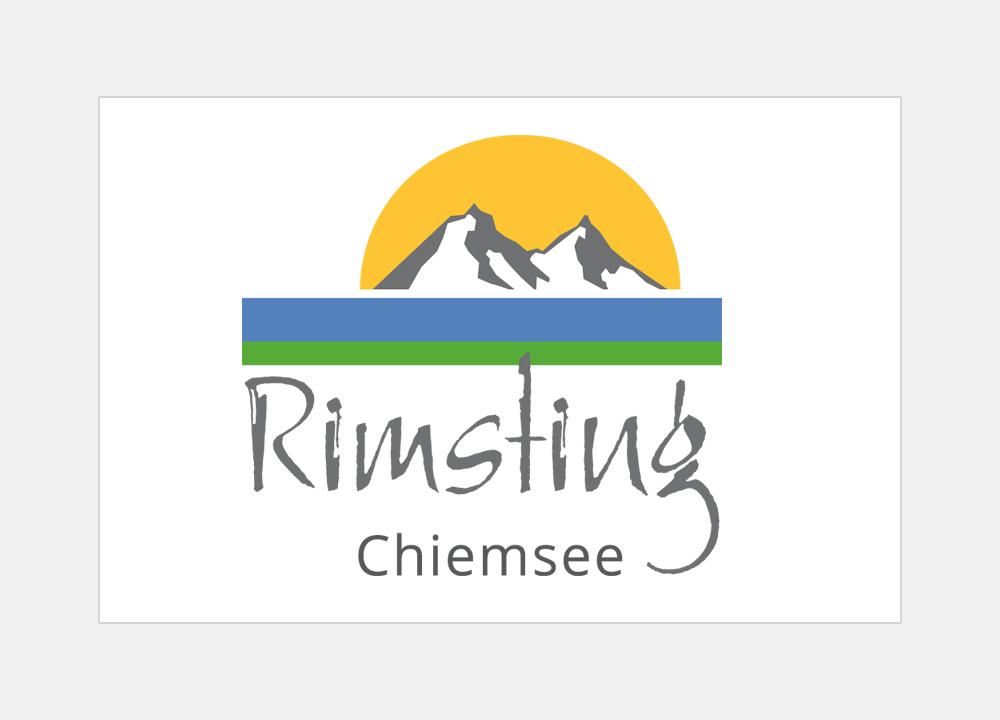Touristik-Logo der Gemeinde Rimsting