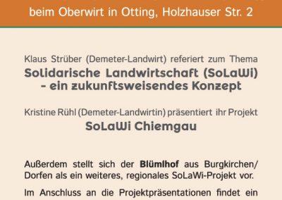 Handout SoLaWi Chiemgau | UNDO