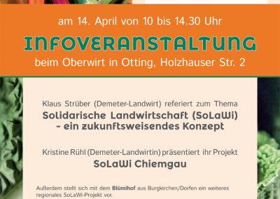 Plakat SoLaWi Chiemgau | UNDO