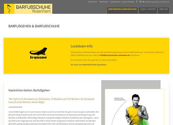 Zur Homepage von BARFUßSCHUHE Rosenheim