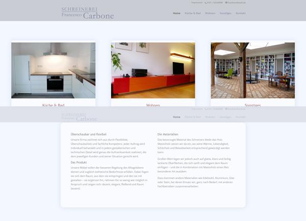 Zur Homepage der Schreinerei Carbone | UNDO