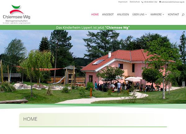 Zur Homepage der Chiemsee Wg