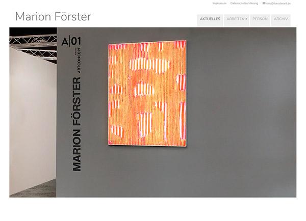 Zur Homepage von Marion Förster