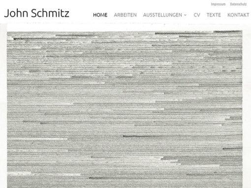 John Schmitz | Kunst