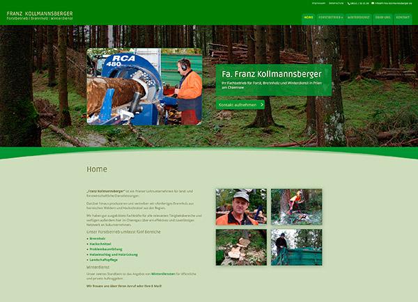 Zur Homepage der Fa. Kollmannsberger | UNDO