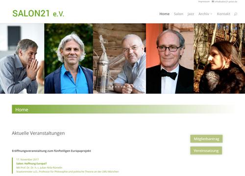 Zur Homepage des SALON21 e.V. | UNDO