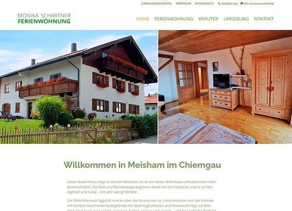 Zur Homepage der Ferienwohnung Schartner