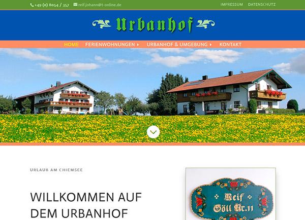 Zur Homepage des Urbanhofes   UNDO
